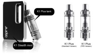 Aspire K1 Stealth Kit Review