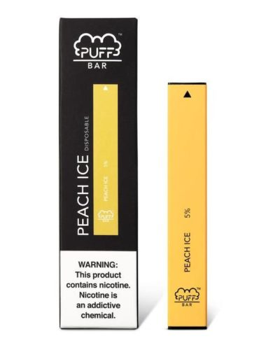 Peach Ice Disposable Vape Pen by Puff Review